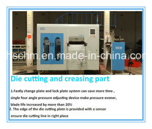 Platen Die Cutting Machine pictures & photos