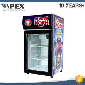 50L Glass Door Counter Top Cooler Display Chiller pictures & photos