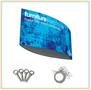 Indoor Advertising Ceiling Tension Fabric Hanging Banner pictures & photos