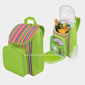 Polyester Picnic Cans Cooler Lunch Bag Sycb-017