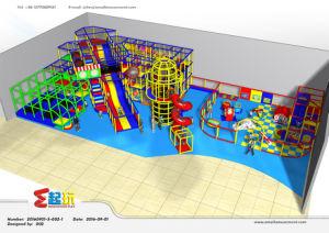 Hot Sale Ocean Themed Amusement Indoor Playground for Children