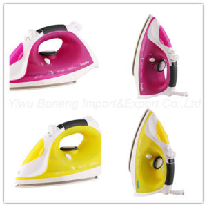 Electric Steam Iron Si106-792 Electric Iron with Ceramic Soleplate (Yellow) pictures & photos