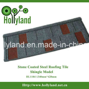 Stone Chip Coated Metal Roof Tile (Shingle Tile) pictures & photos