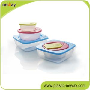Manufacture Promotiona Cartoon Sweet Gift Microwave Safe Storage Box for Food 3 in 1 pictures & photos