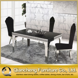 Black Marble 8 Seater Dining Table pictures & photos