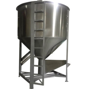 High Capacity Food Mixer for Production Line Made of Stainless Steel