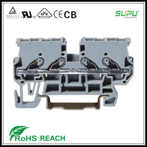 Pr2.5/4 Straight Plug in Type Terminal Blocks pictures & photos