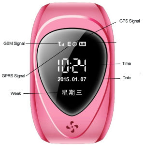 Kids GPS Watch with Remote Monitoring&GPS Position Tracking & Sos Call Kid Smart Bluetooth Watch pictures & photos