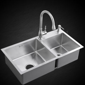 Kitchen Handmade Stainless Sink (7842S) pictures & photos