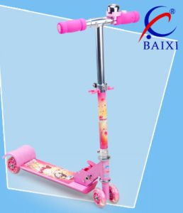 Pink Scooter for Kids (BX-4M001) pictures & photos