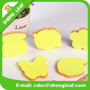 Removable Sticky Note with Logo Print and Different Shape (SLF-PI015) pictures & photos