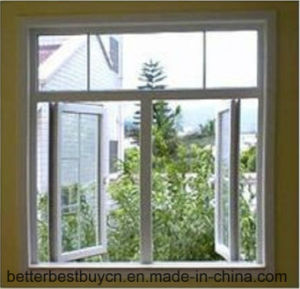 Hot Sale in Africa Decorative Strip UPVC Sliding Window pictures & photos