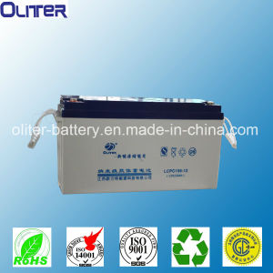 Deep Cycle Gel Solar Battery 12V150ah for off-Grid Power System pictures & photos