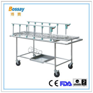 Metal Type Emergency Trolley for Hospital Medical Patient Trolley pictures & photos