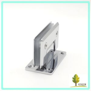 Shower Door Square Bevel Edge 90 Degree Hinge / Brass Hinge pictures & photos