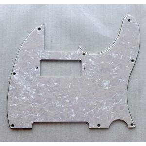 3 Ply Vintage White Pearloid Tele Guitar Pickguard pictures & photos