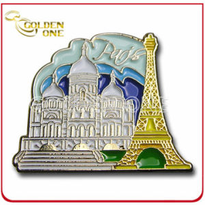 High Quality Custom Nickel Plated Color Fill Enamel Badge pictures & photos