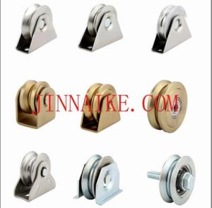 Steel Sliding Gate Wheel with Bracket pictures & photos
