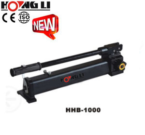 Hydraulic Manual Pump with Pressure to 70MPa (HHB-1000) pictures & photos