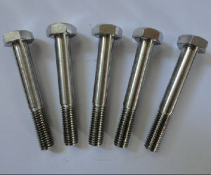 Inconel 600 2.4816 DIN931 Hex Head Bolt pictures & photos