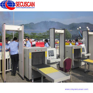 Tip Small X-ray Luggage Inspection Equipment for Gold Processing Company, Police pictures & photos
