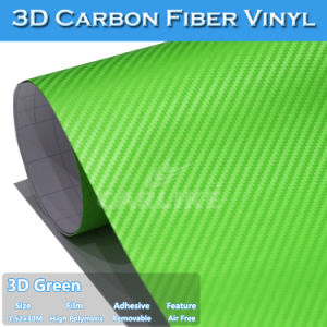 Green Wrap Vinyl Carbon Fiber Film Decoration Sticker