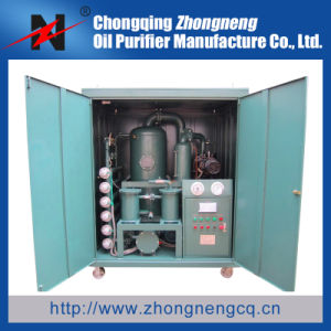 Double-Stage Vacuum Insulation Oil Regeneration Plant/ Insulation Oil Cleaning Plant pictures & photos