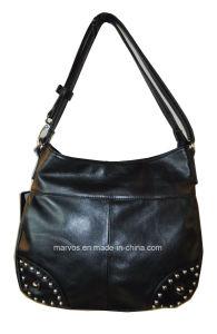 Fashion Ladies′ Leather Tote Bag (M10462)