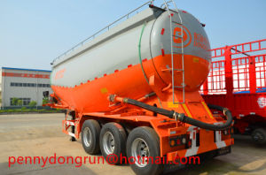 3 Axle Tank Semi Trailer for Transportation Bulk Cement