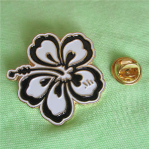 Beautiful Gold Plated Flower Lapel Pin