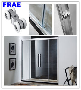 Two Fixed Two Sliding Shower Door Bathroom Shower Cubicile Showr Cabin pictures & photos