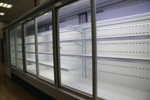 Commercial Supermarket Open Air Curtain Display Refrigerator pictures & photos