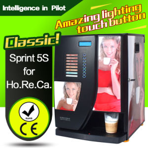 Commercial Use Sprint 5s Coffee Vending Machine pictures & photos