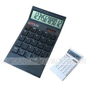 10 Digits Tilted Screen Dual Power Desktop Calculator (LC296A)