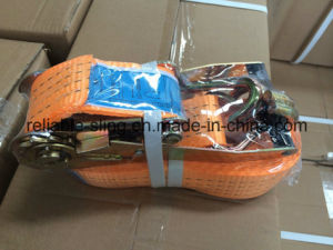 Ratchet Lashing Tie Down Strap/Lashing Belt/Cargo Lashing Belt with Ce SGS ISO pictures & photos