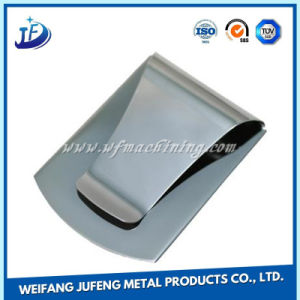 Customized/OEM Stainless Steel/Brass Metal Blank Stamping Money Clip pictures & photos