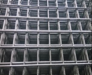 Hot Rolled Ribbed Reinforcing Mesh/Concrete Reinforcement Wire Mesh pictures & photos