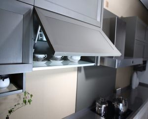 Modern Fashion Kitchen Cabinets with Lift up Door pictures & photos
