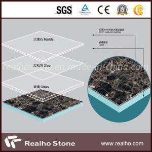 Emperador Dark Brown Marble Composite Tile for Wall pictures & photos