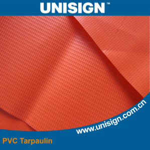 Fire Resist PVC Coated Tarpaulin (650GSM) pictures & photos