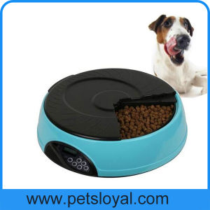 Factory Wholesale 6 Meals Automatic Pet Feeder Bowl Dog Product pictures & photos