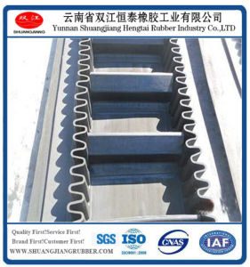 Wave Shape Rubber Conveyor Belt, Transmission Belt, Industrial Rubber Belt pictures & photos