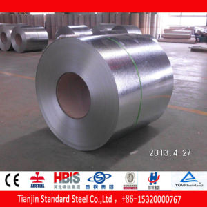 Zero Spangle SGCC Hot Dipped Zinc Coated Galvanized Steel Coil pictures & photos