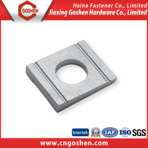 Steel Square Washer with Zinc-Plated M8-M52 pictures & photos