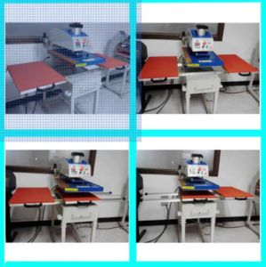 Pneumatic Double Stations Heat Press Machine for T-Shirt pictures & photos