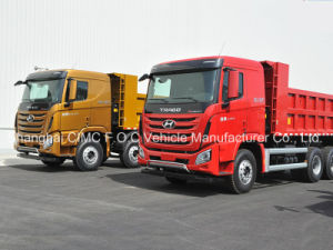 China Sichuan Hyundai Trago Xcient Tipper/Dump Truck pictures & photos