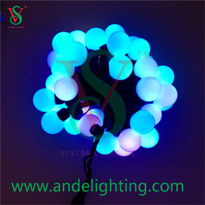LED Christmas RGB Color Ball Decoration String Light pictures & photos