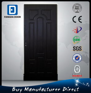 Fangda MDF/PVC Interior Room Wood Door pictures & photos