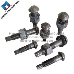 Sets of Torshear Type High Strength Bolt Nut and Washer for Steel Structures GB 3632 pictures & photos