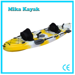 3 Person Ocean Kayak Sit on Top Plastic Canoe with Prices pictures & photos